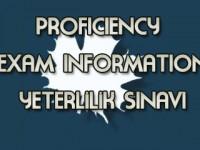 Proficiency Sınavında Başarı